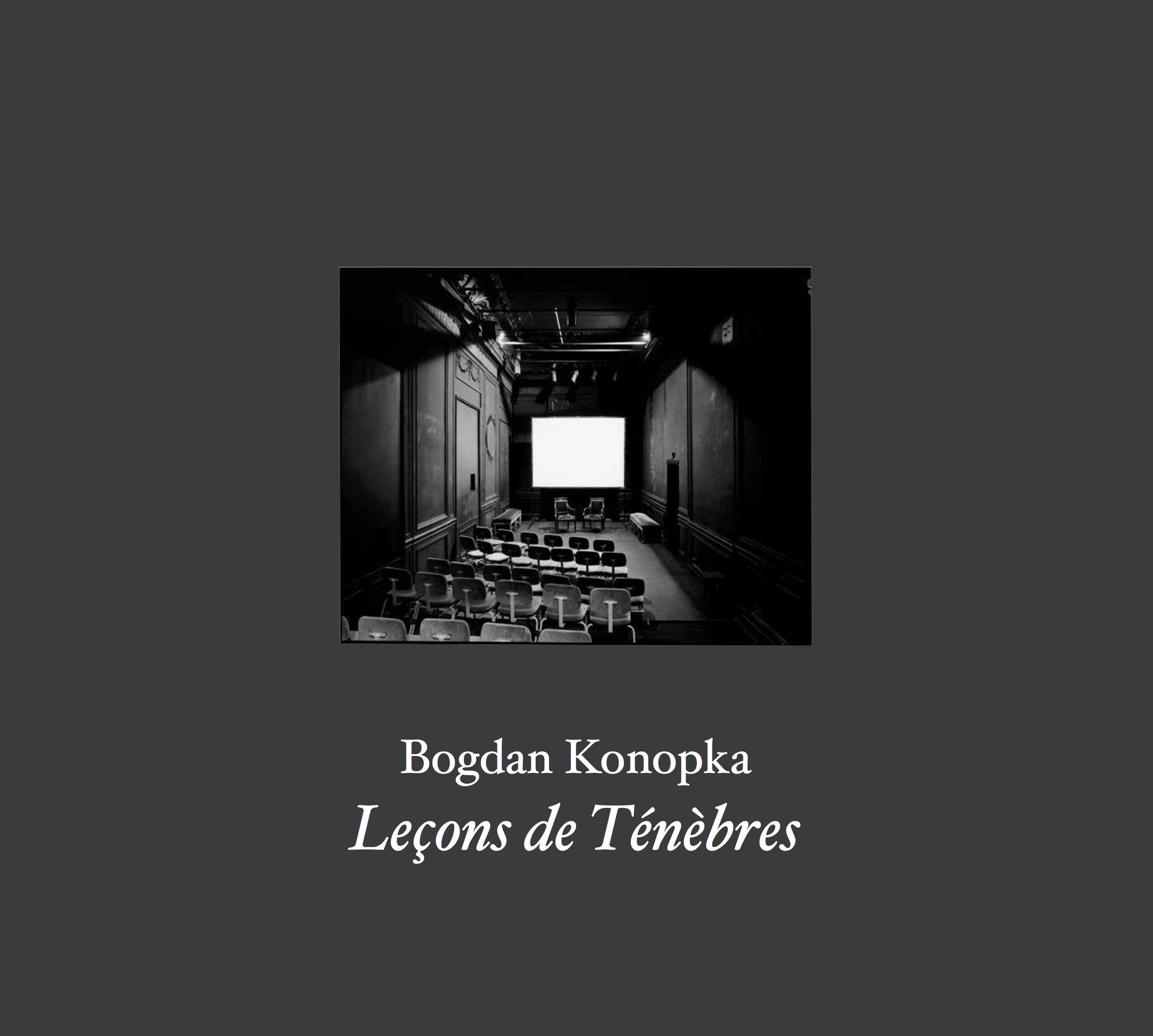 Bogdan Konopka, Leçons de Ténèbres
