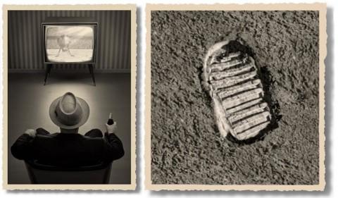 """Thomas Herbrich """"Lądowanie na księżycu - historia prawdziwa"""""""