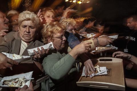 Tort z okazji 375-lecia browaru w Tychach, 2004. Zdjęcie autorstwa Mariusza Foreckiego z książki pt.: Mechanizm. Użycie dozwolone tylko w połączeniu z informacją o książce.